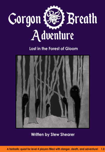 Lost in the Forest of Gloom Cover